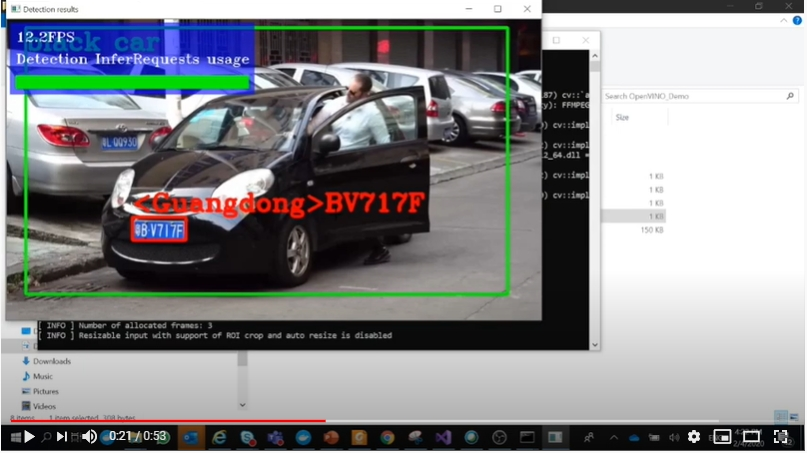 Intel OpenVINO Tool kit Download and Using for License Plate Recognition