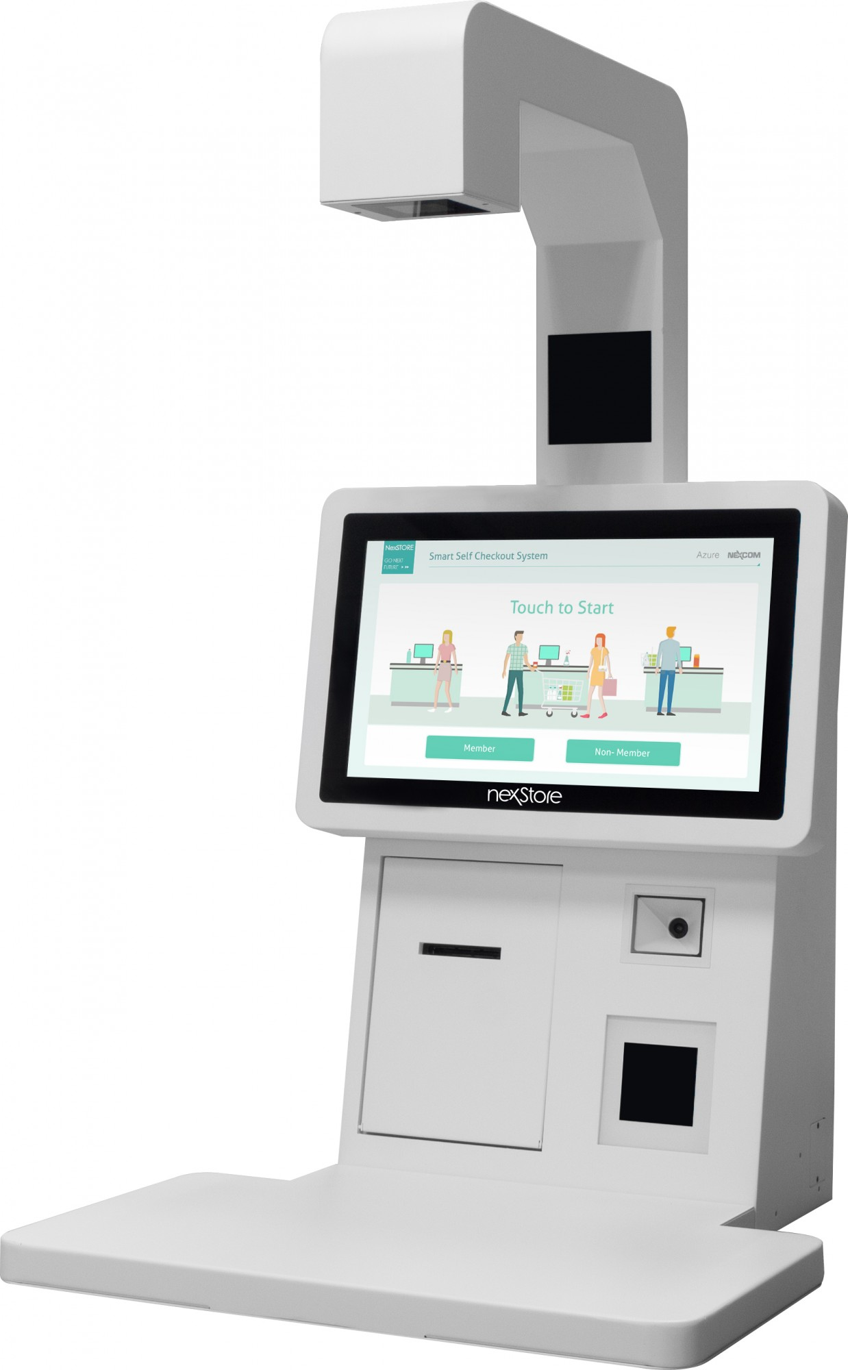 NexCOBOT Smart Self Checkout Solution